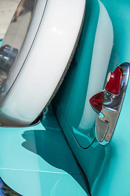 Photograph - 1953 Chevy Bel Air Continental Kit by Roger Mullenhour
