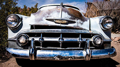 Photograph - 1953 Chevy Bel Air by  Onyonet  Photo Studios