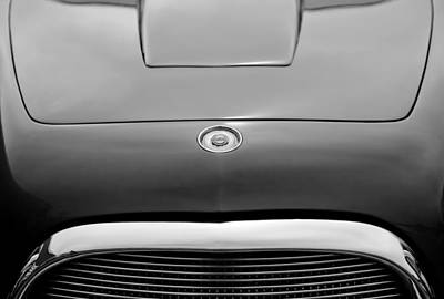 Photograph - 1953 Chrysler Gs-1 Ghia Hood Emblem by Jill Reger