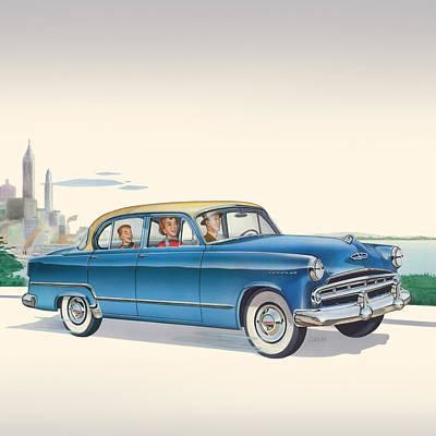 1953 Dodge Coronet - Square Format Image Original