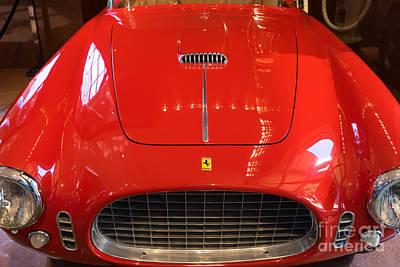 Photograph - 1953 Ferrari 250 Mm Spyder Dsc2503 by Wingsdomain Art and Photography