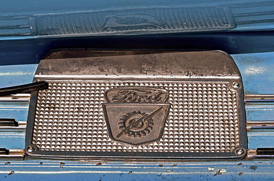 Photograph - 1953 Ford F-100 Truck Lightning Bolt Step Plate by Bill Owen