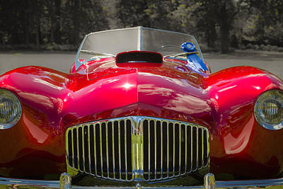 Photograph - 1953 Glaspar Model-2 Roadster by Jack R Perry