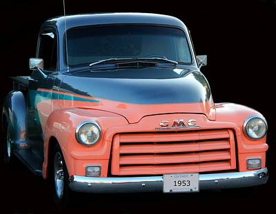1953 Gmc Pick-up Art Print