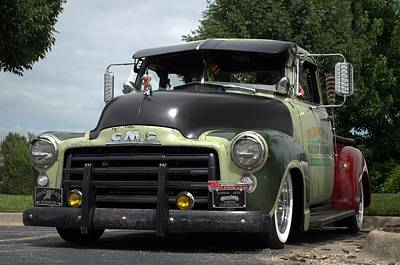 Photograph - 1953 Gmc Pickup Truck by Tim McCullough