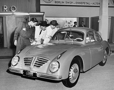 Horsepower Photograph - 1953 Goliath Sports Coupe by Underwood Archives