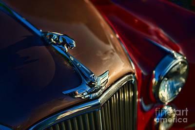 1953 Jaguar Mk7 Art Print by Paul Ward