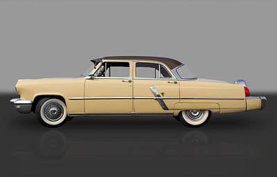 Photograph - 1953 Lincoln by Frank J Benz