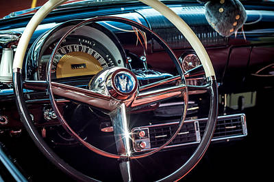 Photograph - 1953 Mercury Monterey Dashboard by David Morefield