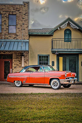 Photograph - 1953 Mercury Monterey Vertical by David Morefield