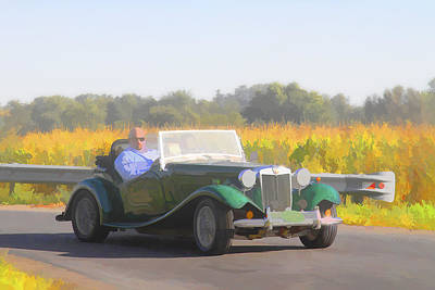 Photograph - 1953 Mg Td by Jack R Perry