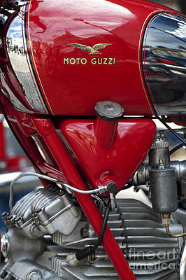 Photograph - 1953 Moto Guzzi Falcone Sport 500cc by Tim Gainey