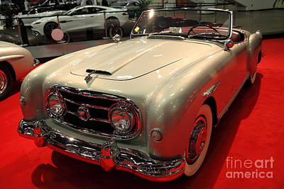 Photograph - 1953 Nash Healey 5d26605 by Wingsdomain Art and Photography