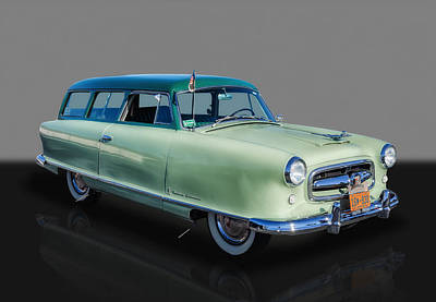 Photograph - 1953 Nash Rambler Greenbriar Wagon by Frank J Benz
