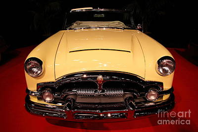 Photograph - 1953 Packard Caribbean Convertible 5d26636 by Wingsdomain Art and Photography