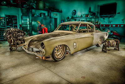 Photograph - 1953 Studebaker Hawk by Yo Pedro