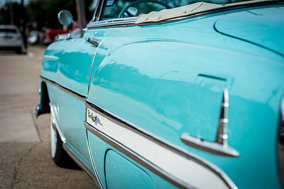 Photograph - 1954 Bel Air Coupe by David Morefield