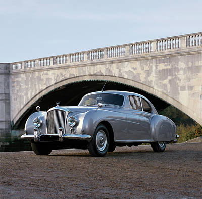 Historic Car Photograph - 1954 Bentley R-type Continental, 2-door by Panoramic Images