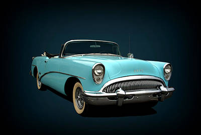 Photograph - 1954 Buick Convertible by Tim McCullough