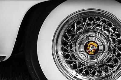 Wire Wheels Photograph - 1954 Cadillac Eldorado by Dennis Hedberg
