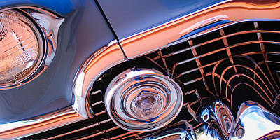 Photograph - 1954 Cadillac Grille by Jill Reger