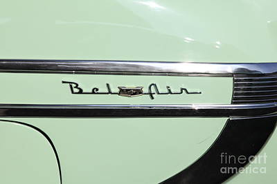 Photograph - 1954 Chevrolet Bel Air 5d26384 by Wingsdomain Art and Photography