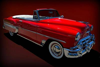 Photograph - 1954 Chevrolet Bel Air Convertible by Tim McCullough