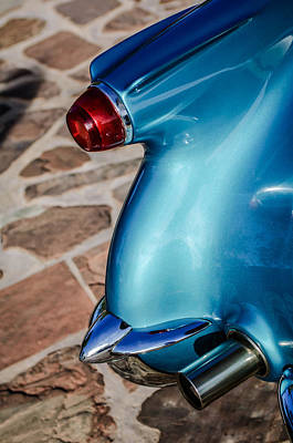 Photograph - 1954 Chevrolet Corvette Taillight -104c by Jill Reger