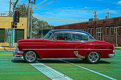Photograph - 1954 Chevrolet Street Rod by Tim McCullough