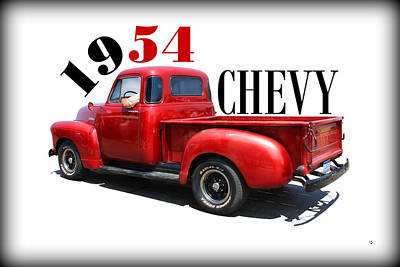 Photograph - 1954 Chevy by Betty Northcutt
