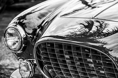 Photograph - 1954 Ferrari Europa 250 Gt Grille -1336bw by Jill Reger