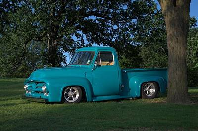 Photograph - 1954 Ford F-100 Pickup Truck by Tim McCullough