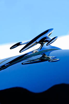 Photograph - 1954 Gmc 100 Pickup Hood Ornament by Jill Reger