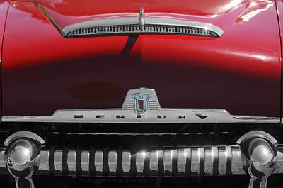 Fifties Automobile Photograph - 1954 Mercury Monterey Hood Ornament by Jill Reger