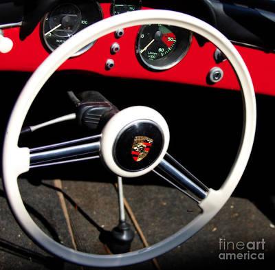 Digital Art - 1954 Porsche Speedster by Steven Digman