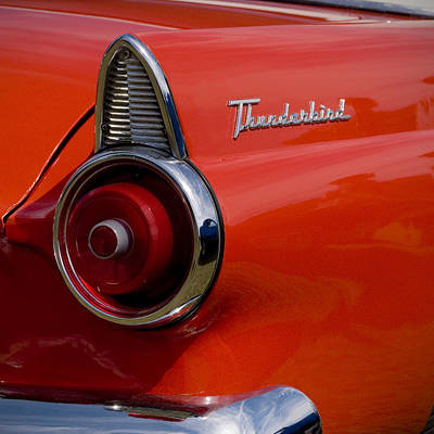 Photograph - 1955 427 Thunderbird Tail Light by Beverly Stapleton