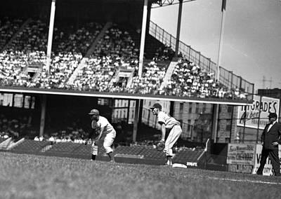 1955 Brooklyn Dodgers Jackie Robinson Art Print
