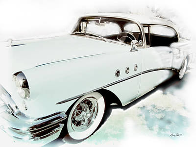 Photograph - 1955 Buick by Ann Powell
