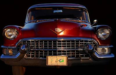 Photograph - 1955 Cadillac Series 62 by Davandra Cribbie