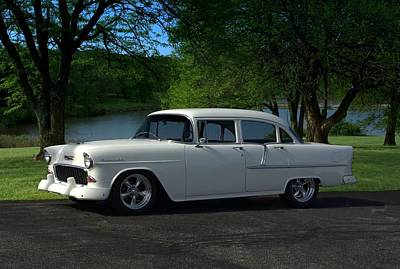 Photograph - 1955 Chevrolet 210 Four Door by Tim McCullough