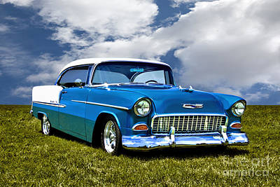 Photograph - 1955 Chevrolet Bel Air by Adam Olsen