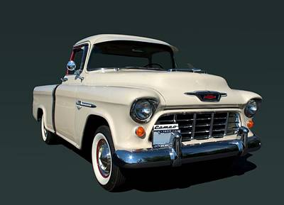 Photograph - 1955 Chevrolet Cameo Pickup Truck by Tim McCullough