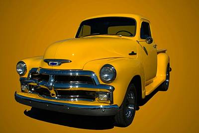Photograph - 1955 Chevrolet Pickup Early Version by Tim McCullough