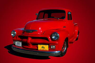 Photograph - 1955 Chevrolet Pickup Truck Early Version by Tim McCullough