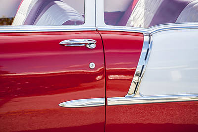 Photograph - 1955 Chevrolet Pristine  by Rich Franco
