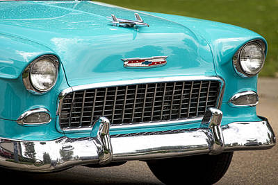 Photograph - 1955 Chevy Bel Air by James BO  Insogna