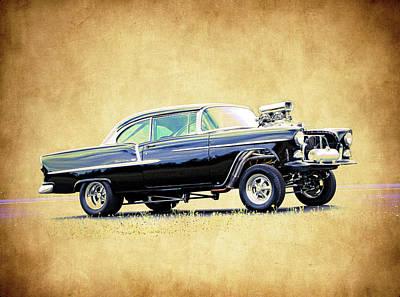 1955 Chevy Gasser Art Print