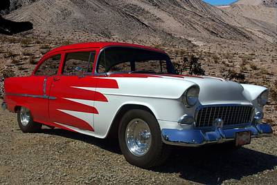 Photograph - 1955 Custom Chevrolet by Tim McCullough