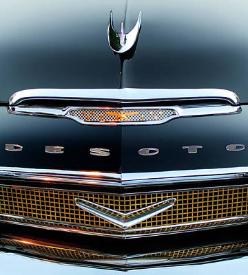 Hoodies Photograph - 1956 Desoto Hood Ornament 2 by Jill Reger
