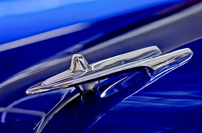 Hoodies Photograph - 1955 Desoto Hood Ornament 3 by Jill Reger